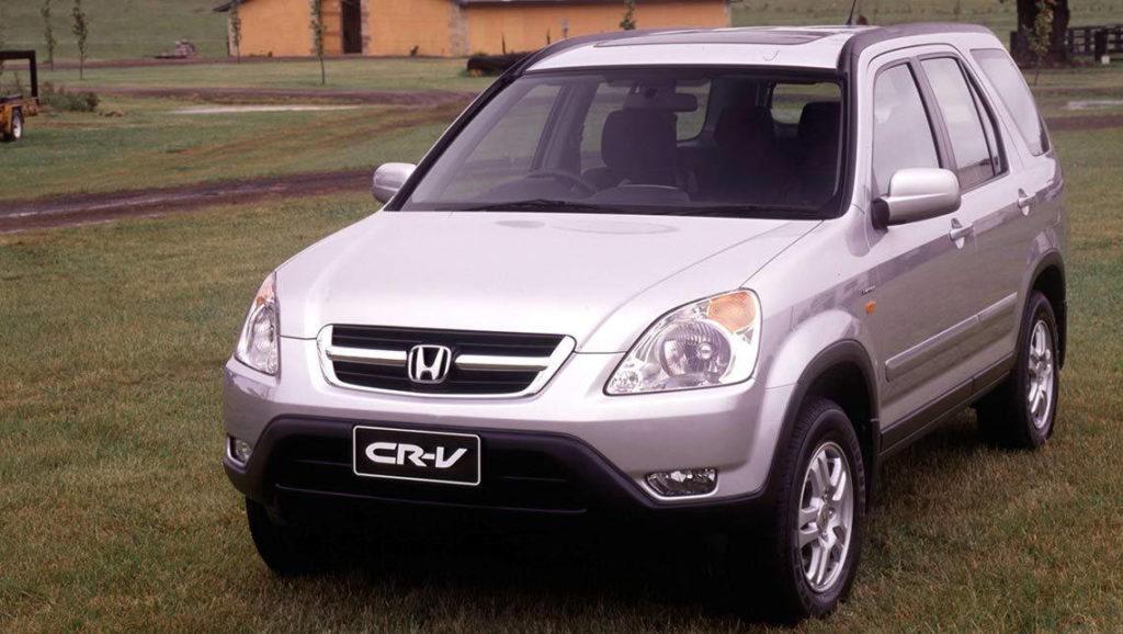 Honda-CR-V II (2-ого поколения)