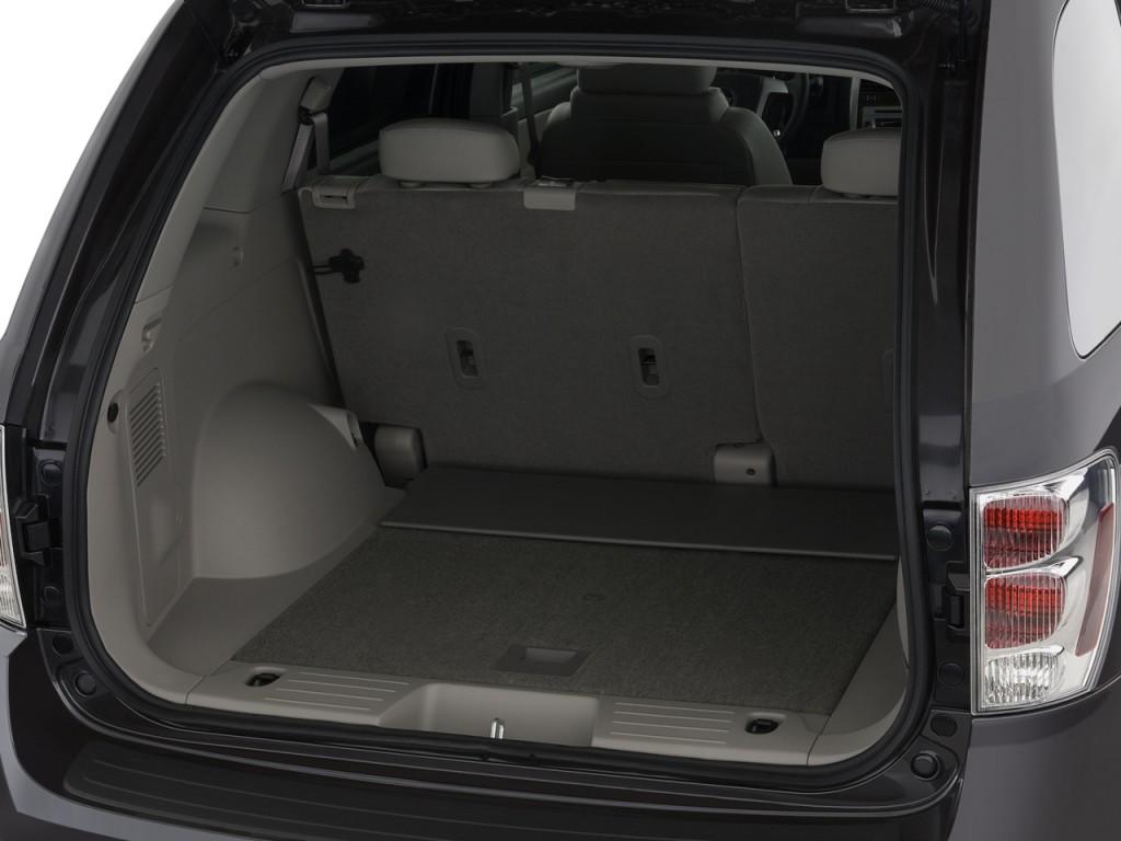 Chevrolet Equinox I багажник