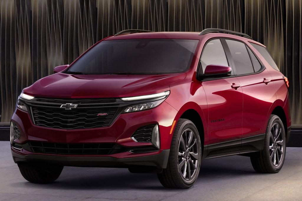 Chevrolet Equinox III рестайлинг 2020