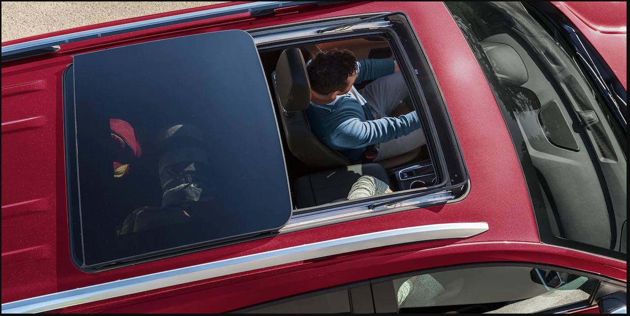 Chevrolet Equinox III панорамная крыша