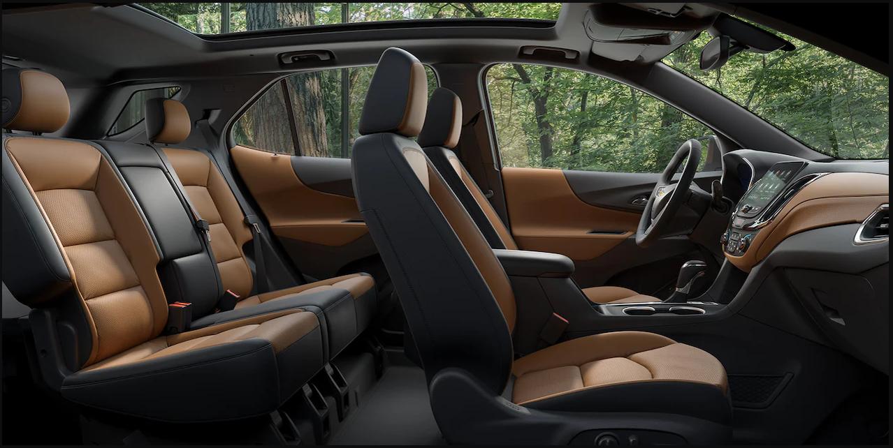 Chevrolet Equinox III салон