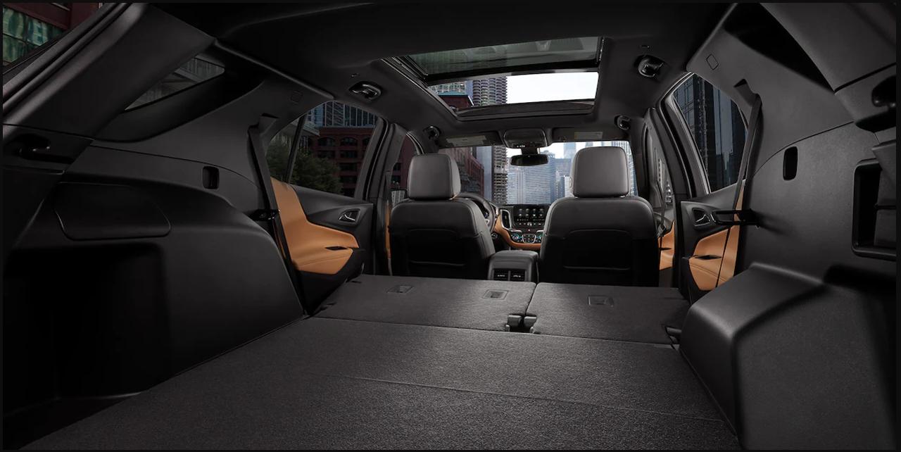 Chevrolet Equinox III багажник